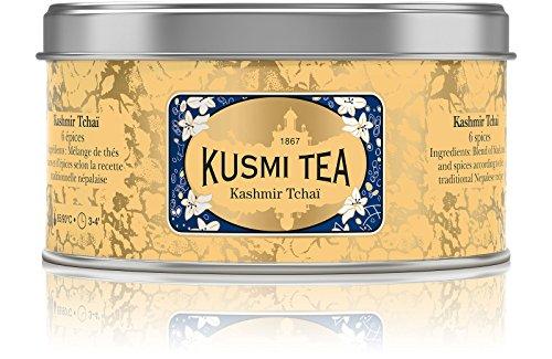 Kusmi Tea – Kashmir Tchaï – Schwarztee & Asiatische Gewürze – Metalldose mit 100 g