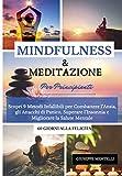 MINDFULNESS & MEDITAZIONE PER PRINCIPIANTI - 60 giorni alla felicità: Scopri 9 Metodi Infallibili per Combattere l'Ansia, gli Attacchi di Panico, Superare l'Insonnia e Migliorare la Salute Mentale
