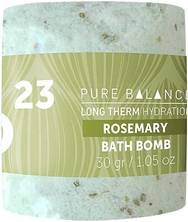 Paquete de bombas de baño efervescentes aroma romero (Bath bomb's) de 30 g Pure Balance 60 piezas