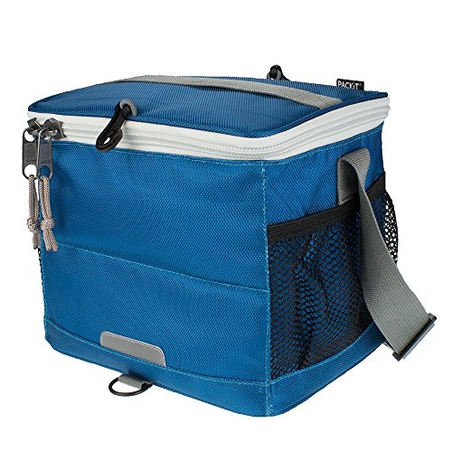 Packit - Cooler 9 Can - Sac réfrigérant - Bleu (Marine) - 20.3 x 26.7 x 21 cm, 6 Liter