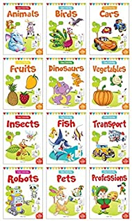 Colouring Books Boxset: Pack of 12 Copy Colour Books for Children by Wonder House Books
