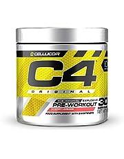 Pre-workout Powder C4 Original Cherry Limeade   Pre-workout Energy Drink Supplement   150mg Cafeïne + Bèta-alanine + Creatine-monohydraat   30 Doseringen