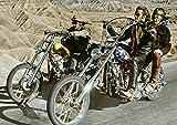 QQVV Poster Easy Rider 1969 Klassischer Film Kunst