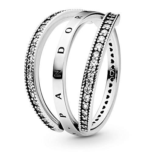 PANDORA Flipping Hearts Ring