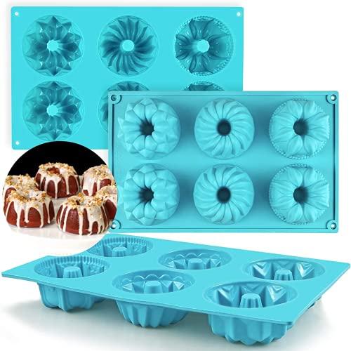 Aiiwqk Mini touca Pastel Pot Pot Pasílico, Usado en Jalea, Pastel, Donut, Donut, Pan de maíz