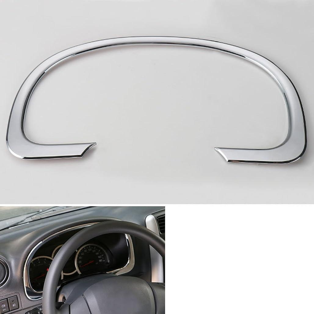 パシフィック共産主義者状態Jicorzo - Center Instrument Dashboard Cover Trim Interior Car Styling Sticker Chrome ABS Decoration Accessories For Suzuki Jimny 2007-2015 [Shiny Silver]