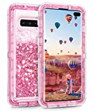 Coolden Heavy Duty Case for Galaxy S10 Plus Case Glitter