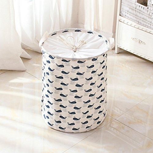 GSHWJS Opbergdoos voor verschillende voorwerpen, waterdichte stof, opvouwbaar, kan gesloten worden om de box thuis te bewerken, 35 x 45 cm wasmand