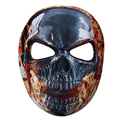 Dyljyf Halloween Masker Print Volledig Gezicht Masker Mexicaanse Undead Festival Bar Dans Party Horror Ghost Gezicht Masker