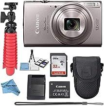 $249 » Canon PowerShot ELPH 360 HS(Silver) Digital Camera w/Deluxe Kit 32GB SDHC Memory Card Bundle