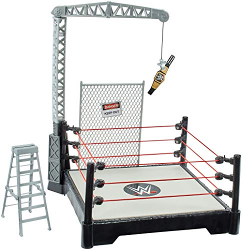 Mattel Spain – WWE Powerlift Playset, Mehrfarbig (21 – 65 GFH)