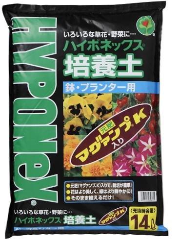 ハイポネックスジャパン ハイポネックス 培養土 鉢・プランター用 14L