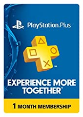 1 Month – Lowest Price New Games every month with Instant Game Collection. Next-generation online multiplayer on the PS4 system. One membership will extend to your PS4, PS3, and PS Vita systems. New Games every month with Instant Game Collection.; Ne...