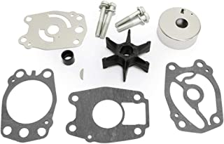 Createshao 679-W0078-A1 679-W0078-00 Outboard Water Pump Impeller Repair Kits for Yamaha Replacement Water 40 hp Outboard Motor 1992-1997