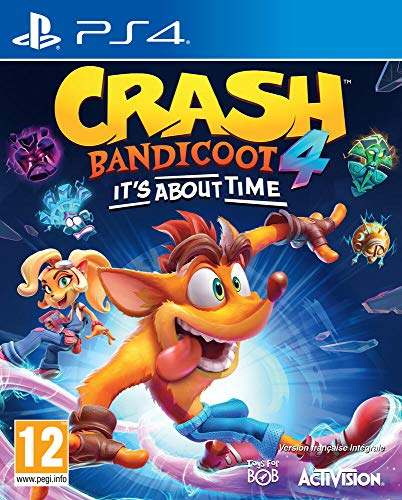 Crash Bandicoot 4 : It's About Time (PS4) - PlayStation 4 [Edizione: Francia]