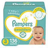 Diapers Size 3, 136 Count - Pampers Swaddlers Disposable Baby Diapers, Enormous Pack cloth diapers Nov, 2020