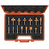 CMT Orange Tools 900.001.00 - Estuche 15 fresas rectas y perfil. s 8 hw dx