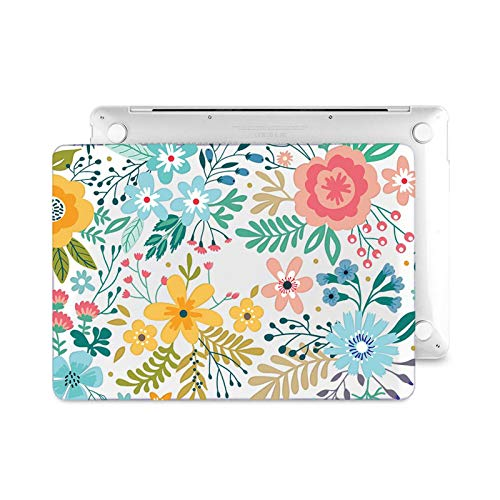 Floral Laptop Case for Air A2337 A2179 2020 Pro 13 16 inch Touch bar A2289 A2141 A2338 Plastic Hard Case Keybaord Skin-Z061-Model (A1932)