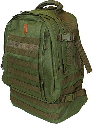 EUROHUNT Jagdrucksack 2, Wanderrucksack, Rucksack aus 100% Polyester, ca. 25 Liter Fassungsvermögen, grün