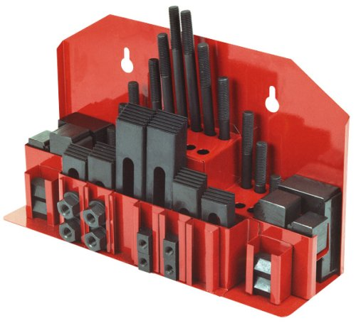 Rotwerk 15603 42-teilige Spannpratzenset für Fräsmaschinen