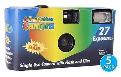 Pocket Shot Disposable Camera - 5 Pack by SnapSnap