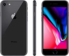 Apple iPhone 8 256GB - Space Gray -Sprint Locked - 4.7in Screen (Renewed)