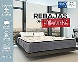 :Lisabed Flex - Matelas Lisa-Flex 90x190, viscoélastique graphène haute densité, réversible (hiver/été), Gamme Prestige Hôtel, 25 cm - Toutes Les Mesures