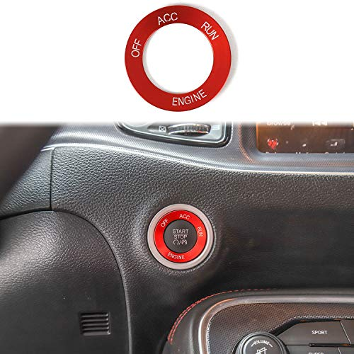 Voodonala for Challenger Charger Steering Wheel Cover Trim for 2015-2020 Dodge Challenger Charger Black,1pc