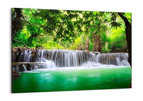 ARTTOR Bild Natur - Bilder Landschaft - Wandbilder Wohnzimmer - Wand Dekoration für alle Räume - Bild auf Leinwand in vielen Größen - AA70x50-2502