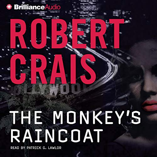 The Monkey's Raincoat audiobook cover art