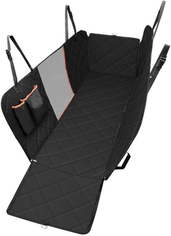 QRFDIAN Waterproof pet car seat cushion Nonslip pet car mat out mat Dog Car Seat Cover (Size   137x147 cm)