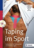 Taping im Sport: Soforthilfe bei Schmerzen und Verletzungen