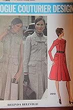 Vintage Vogue Couturier Design Pattern 2610 Size 14 - Misses' Dress And Jacket - Belinda Bellville
