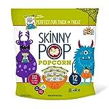 Skinny Pop Skinnypop Popped Popcorn, Original, Pack Of 12 Individual Snack Size Halloween Bags, 6 Oz