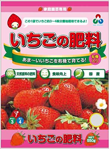 朝日工業 いちごの肥料 550g