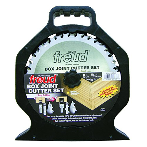 Freud 8' x 20T Box Joint Cutter Set (SBOX8)