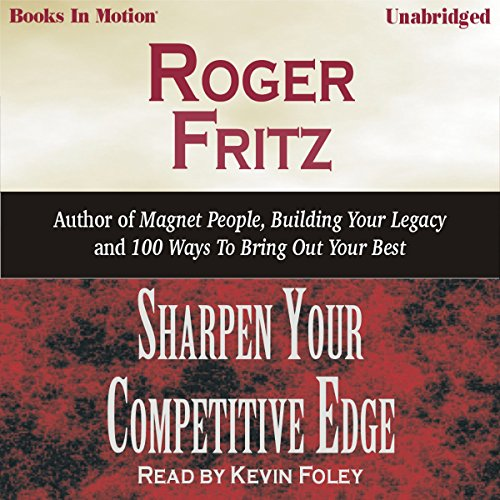 Sharpen Your Competitive Edge audiobook cover art