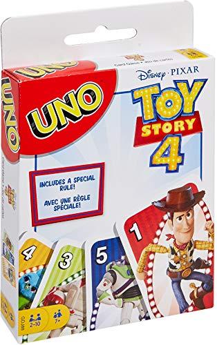 Disney Pixar Toy Story 4 UNO Gioco di Carte a Tema Toy Story 4, GDJ88