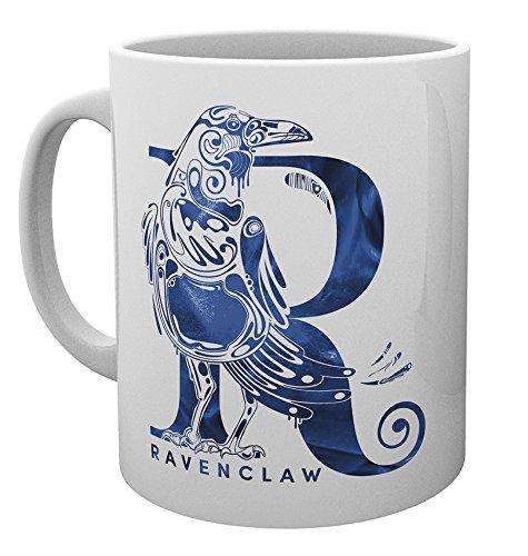 GB eye MG3118 Harry Potter Ravenclaw Monogramm Tasse Keramik verschiedene 15 x 10 x 9 cm