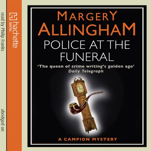 Police at the Funeral audiobook cover art