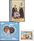 Prophila Collection Eslovenia 832,835,863 (Completa.edición.) 2010 Trajes regionales, Postales, UNICEF (Sellos para los coleccionistas) Uniformes / Trajes