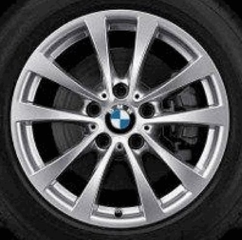 Llanta de aluminio original BMW Serie 3 GT F34 V radios 395 en 17 pulgadas