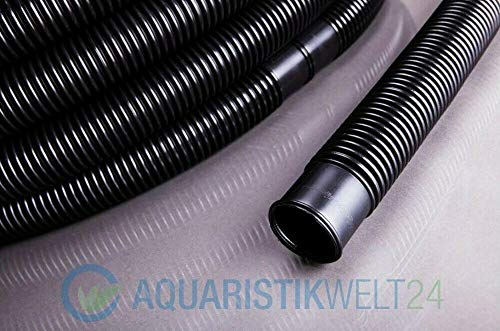AquaOne Poolschlauch Schwimmschlauch 6 Meter 38mm 1 1/2' Muffenabstand 1,5m Saugschlauch Pool Schlauch
