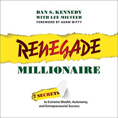 Renegade Millionaire Titelbild