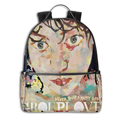 Shichangwei Grouplove Backpack 3D Full-Print Backpack Campus School Bag Casual Backpack Gym Travel Hiking Backpack