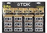 TDK MC60 12 Pack Microcassette Recording Tape