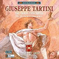 タルティーニ:ヴァイオリン協奏曲集 14 (グリエルモ/ラツァリ/ラルテ・デラルコ)