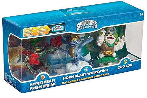 Skylanders Imaginators - Champions Combo Pack (Prism Break, Whirlwind, Zoo Lou)