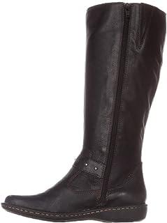 [Born] Womens Austin Wide Calf Closed Toe Riding Boots