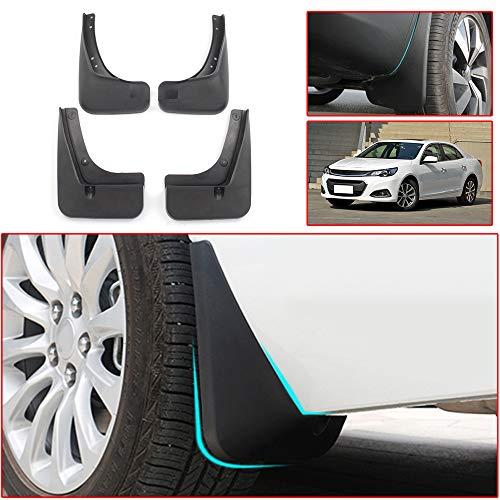 Muchkey no dril car mud Flaps for Chevrolet Malibu 8th gen 2008 2009 2010 2011 2012 2013 2014 2015 Sedan Splash Front and Rear Guards 4pcs/Set